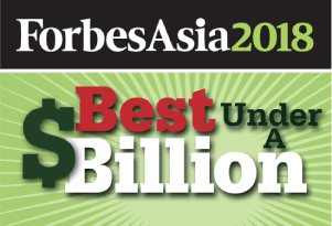 Forbes Asia 200 Best Under A Billion logo